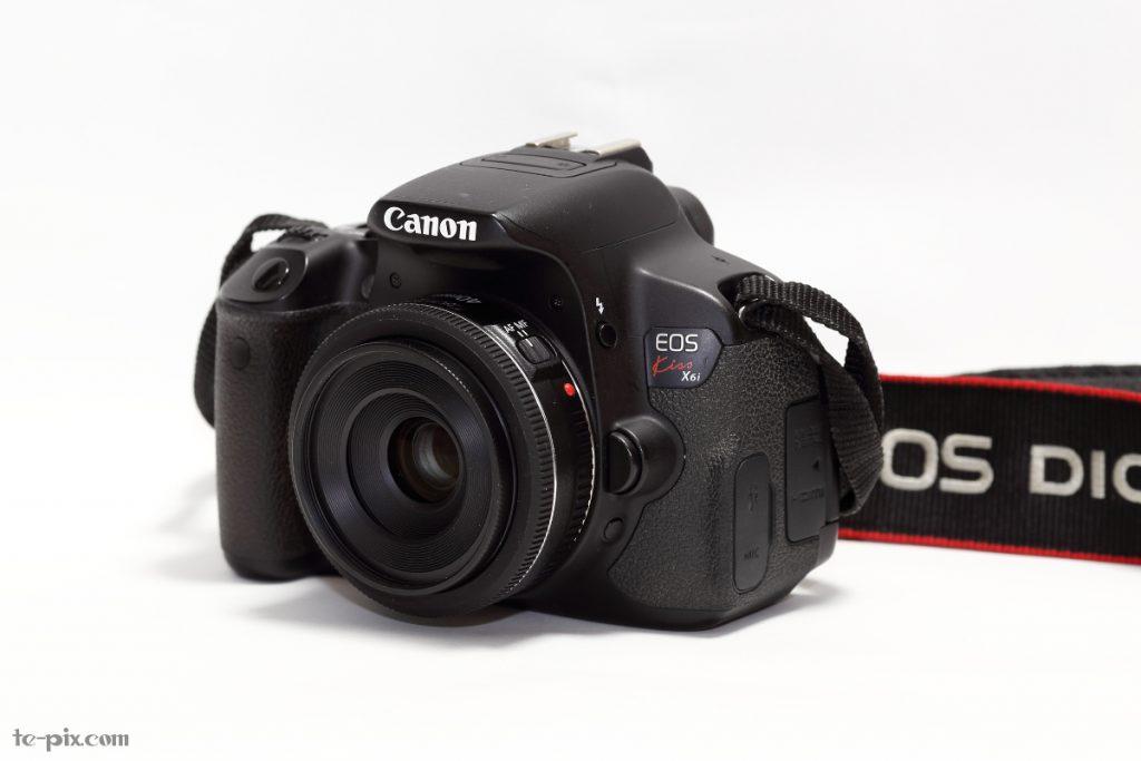 EF40mm F2.8 STMとKiss