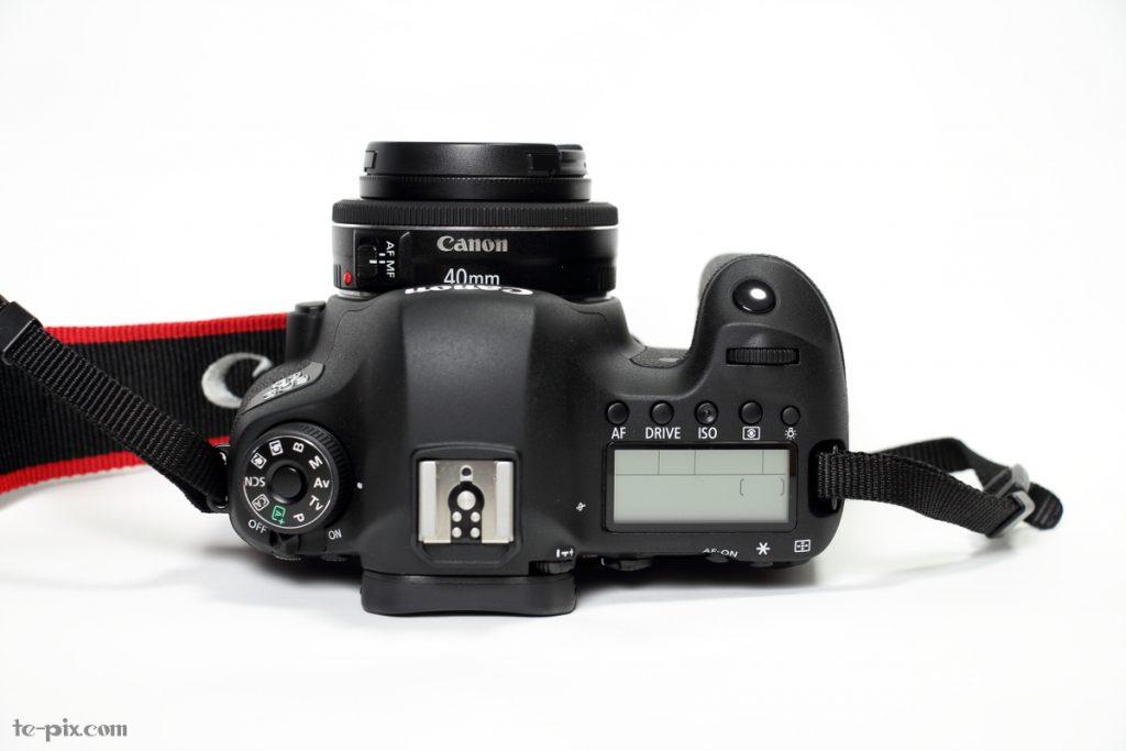 EF40mm F2.8 STMと6D