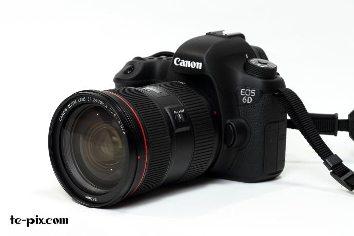 EF24-70mmと6D