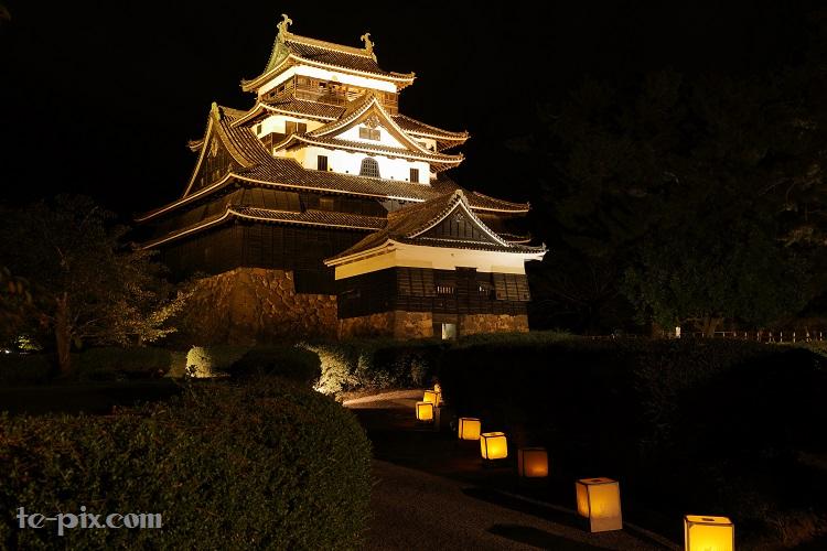 水燈路松江城