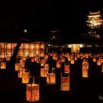 松江の秋のおまつり「水燈路」を撮る!