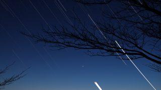 比較明合成で星空を撮る方法
