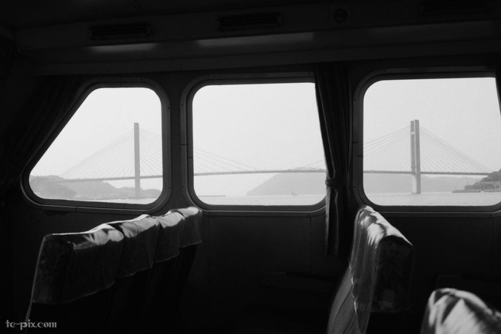 富士フイルムのモノクロフィルムACROS100の作例写真「風景」