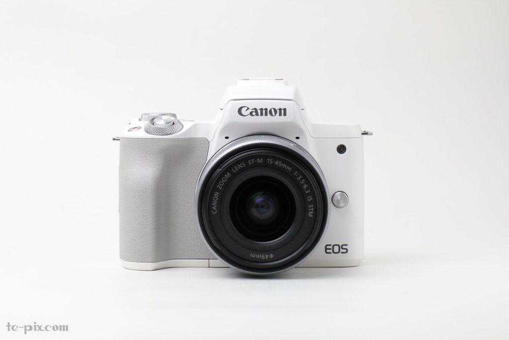 Canon EOS Kiss Mの正面