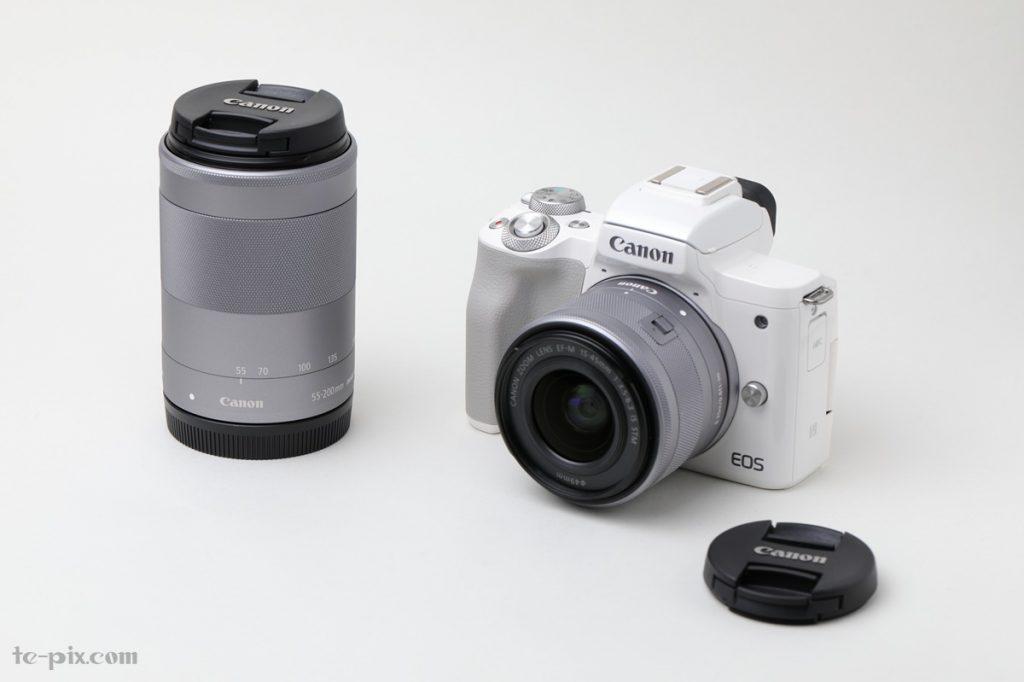 Canon EOS Kiss Mのダブルズームキットの写真