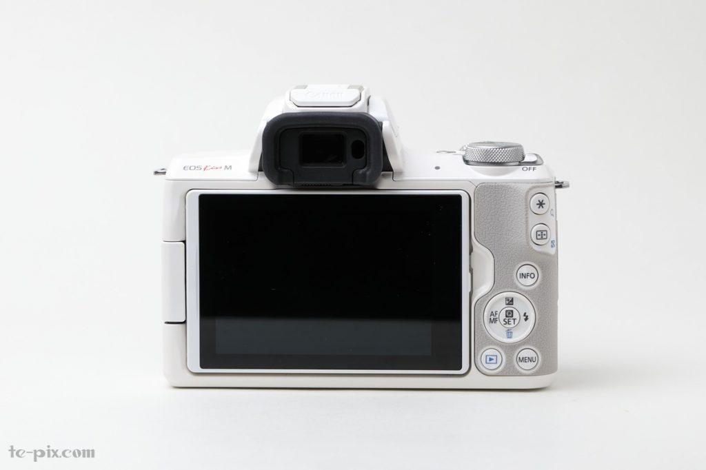Canon EOS Kiss Mの背面