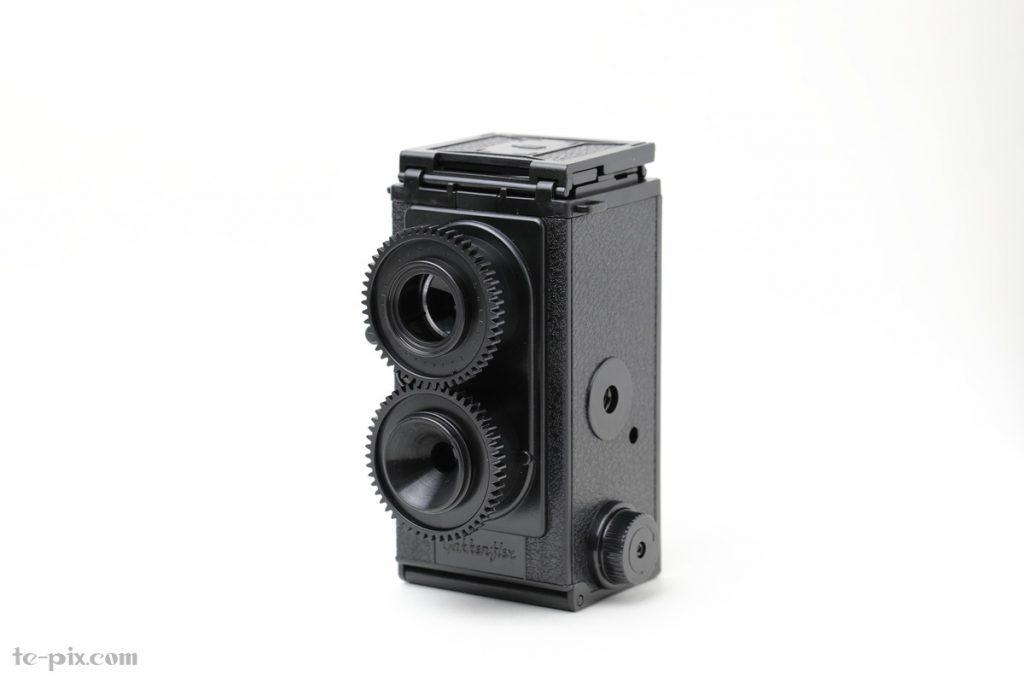 大人の科学 二眼レフカメラの完成写真