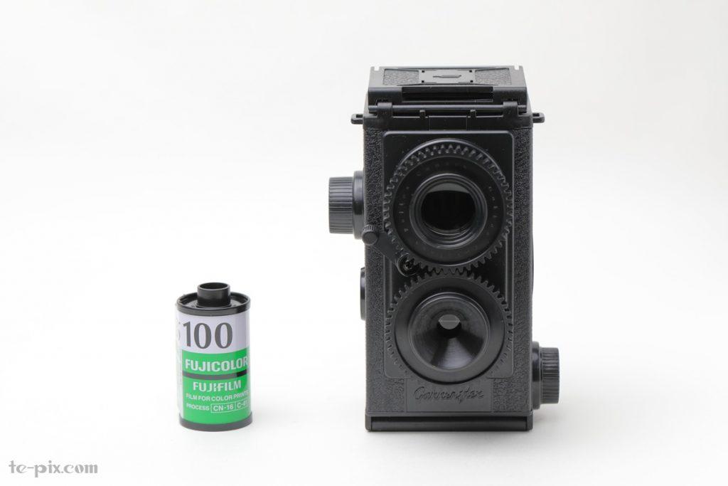 大人の科学 二眼レフカメラのサイズ