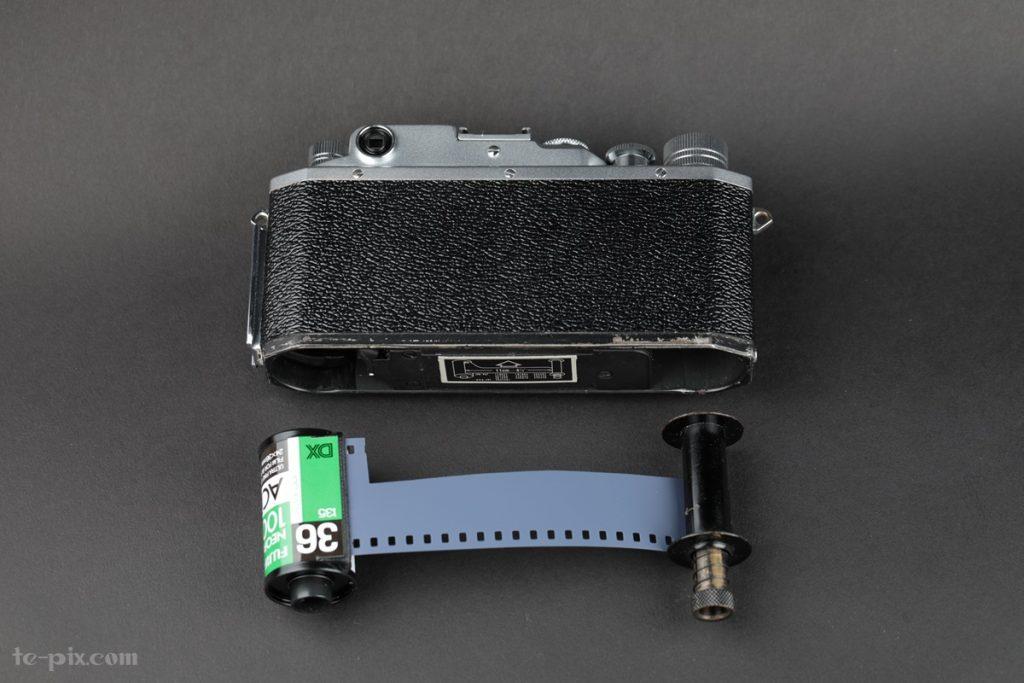 IV Sb改フィルム装填方法