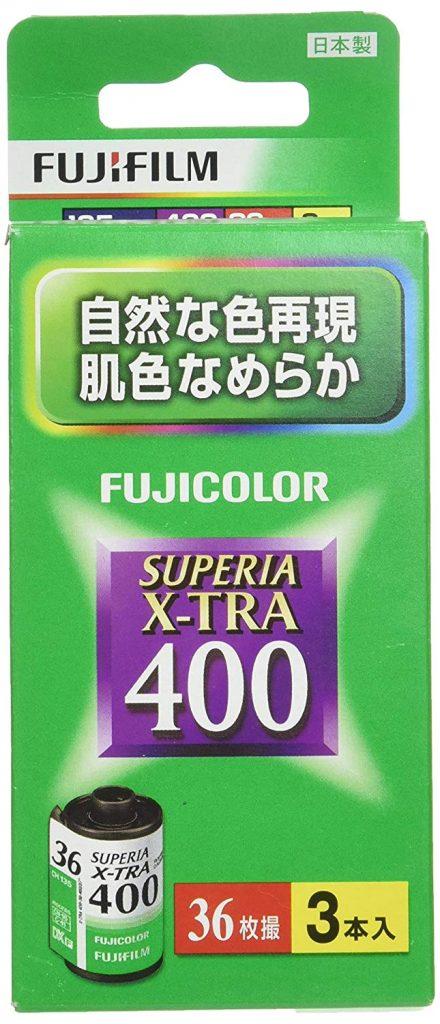 x-tra400パッケージ