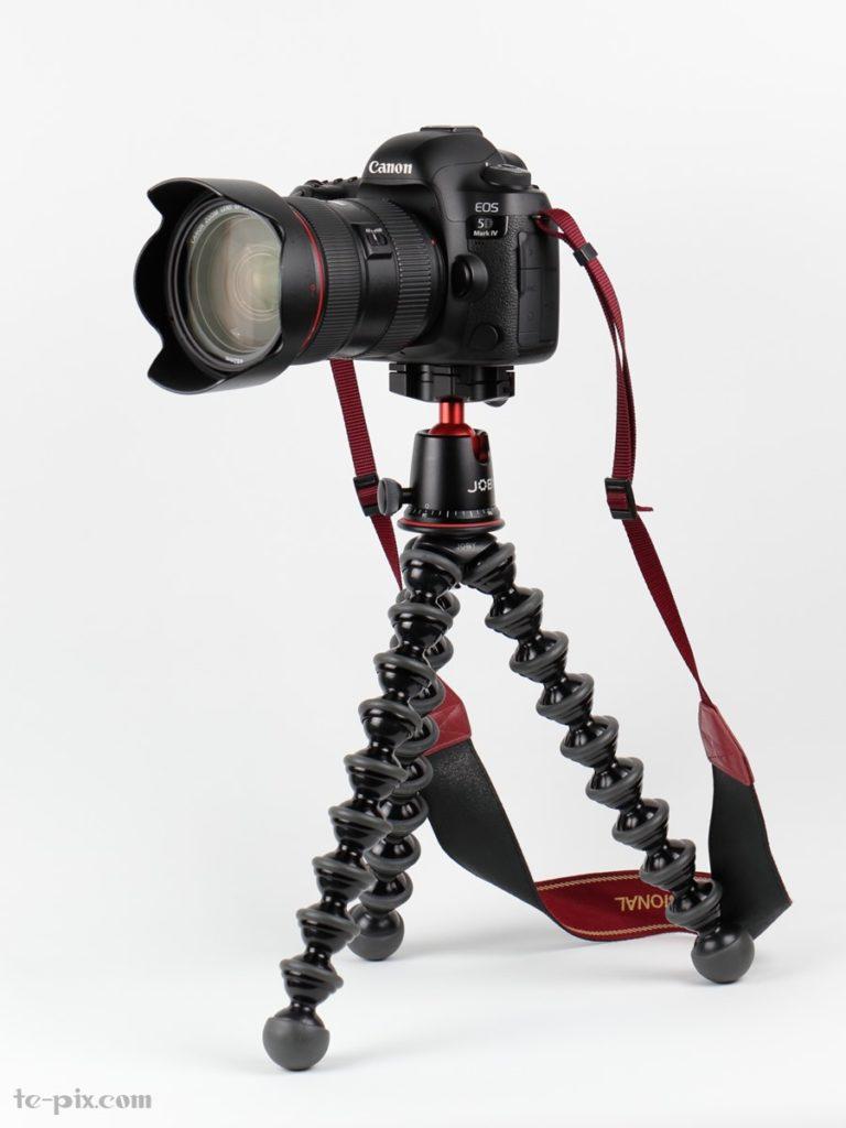 ゴリラポッドにカメラをセット