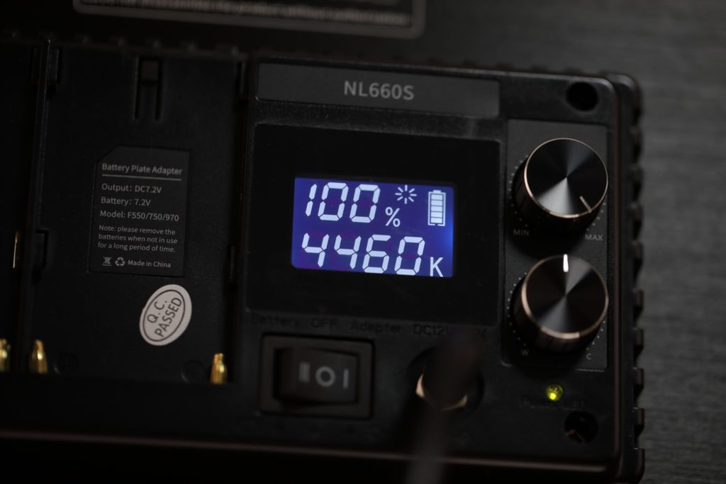 NL660Sパネル部